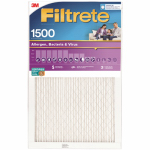 Ultra Allergen Filtrete Pleated Filter, Purple, 24 x 24 x 1-In., Must Purchase in Quantities of 6