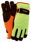 Hi-Vis Winter Gloves, Large