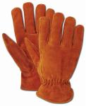 Men's Rich Suede Split Cowhide Driver Glove, XL