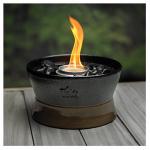 Clean Burn Tabletop Torch, Ceramic, 7-In. Diam.