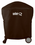Q Grill Cover, For Q2000 & Q3000 w/ Rolling Cart