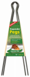 Expander Tent Pegs, 12-In., 2-Pk.