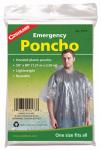 Emergency Poncho, Clear Polyethylene, One Size