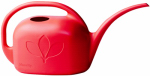 Indoor Watering Can, Red Plastic, 1-Gal.