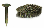 Roofing Nails, Electro Galvanized Coil, 1.5-In. x .120, 7,200-Ct.