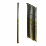 Framing Nails, Wire Strip, Ring Shank, Brite, 2-3/8-In. x .113, 2,000-Ct.