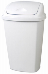 Swing-Top Wastebasket, 13.2-Gal., Must Purchase in Quantities of 4