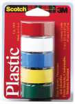 Colored Plastic Tape Assortment