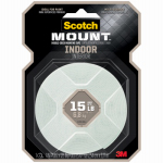 Mounting Tape, Indoor, 1 x 125-In. Roll