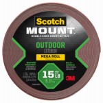 Mounting Tape, Outdoor, 1-In. x 33.3-Ft.