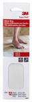 Safety-Walk Anti-Slip Shower Strips, Clear, .75 x 9-In., 12-Pk.