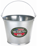 Galvanized Steel Pail, 5-Qt.