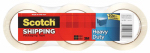 Shipping Packaging Tape, 1.88-In. x 54.6-Yd., 3-Pack