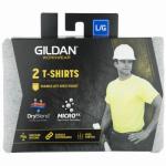 Pocket T-Shirt, Sport Gray, Men's Extra-Large, 2-Pk.