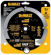 PCD Hardiplank Saw Blade, 4-Tooth, 7.25-In.