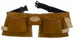 Suede Carpenters Apron, 11-Pocket