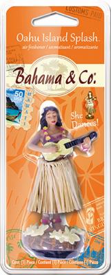 American Covers 0 Oahu Island Hula Girl Air Freshener 6353