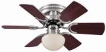 Ceiling Fan, Brushed Nickel, 30-In.