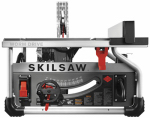 Portable Worm Drive Table Saw, 15-Amp, 10-In.