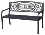 Welcome Steel Park Bench
