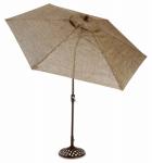Madera Market Umbrella, 9-Ft., Taupe