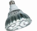 LED Hydroponic Bulb, White, 15-Watts