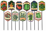Garden Picks, Assorted Vegetable & Herb, 9-In., Must Purchase in Quantities of 11