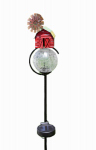 LED Crackle Ball Solar Stake, Farm, 34.5-In., Must Purchase in Quantities of 12
