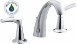 Mistos Lavatory Faucet, Double Handle, Chrome