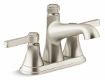 Georgeson Lavatory Faucet, Double Handle, Brushed Nickel