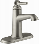 Georgeson Lavatory Faucet, Single Handle, Brushed Nickel