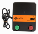 Electric Fence Charger, M10, 0.1 Joules, 110-Volt