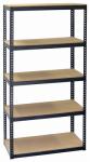 Shelving Unit, 5 Shelves, Steel, 15 x 30 x 60-In.