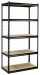 Shelving Unit, 5 Shelves, Heavy-Duty Steel, 18 x 36 x 72-In.