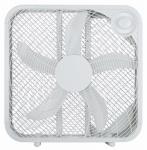 Box Fan, White, 20-In.