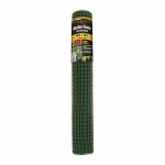 Garden Fence, Green Plastic, 4 x 50-Ft.