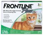 Flea & Tick Killer, For Cats & Kittens, 3-Doses