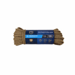TG 1/4x100Tan Poly Rope