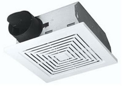 BROAN-NUTONE LLC Bathroom Exhaust Fan, 60 CFM, 5.5 Sones, 9.