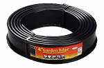 Polyethylene Lawn Edging, Black, 4-In. x 20-Ft.