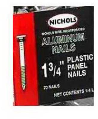 Kaiser Plastic Panel Nails 2ffmsk