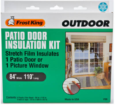 Frost King Outdoo Patio Door Insulation Kit 84 X 110 In V96h
