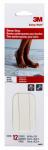 Tub & Shower Anti-Slip Tread Strips, White, 3/4 x 9-In., 12-Pk.