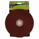 3-Pk., 7-In. 120-Grit Fiber Sanding Disc