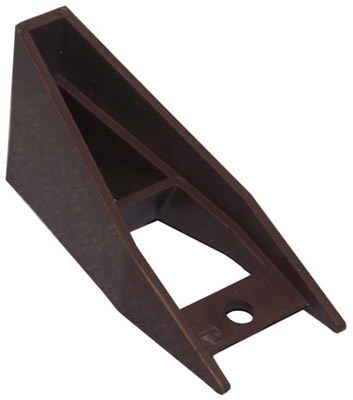 Genova Products Gutter Bracket Spacer Brown Vinyl 5 Pk
