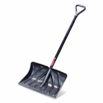 Snow Shovel/Pusher, 20-In. No-Stick Blade