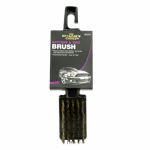 Small Brass White Wall Tire Brush