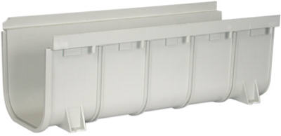 NDS-8-x-20-Inch-Light-Gray-Deep-Profile-Channel-Drain-833