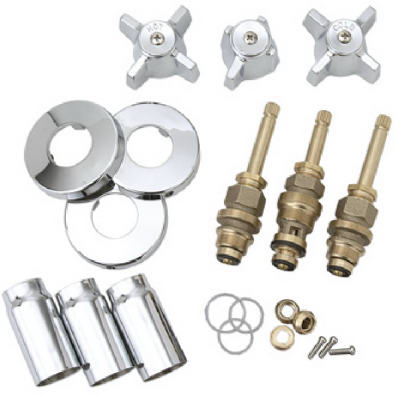 Brass craft service parts ster chrome tub shower r kit sk0336 for Brass craft service parts
