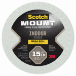 3/4 x 350-Inch Foam Mounting Tape
